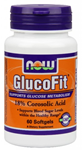 NOW Foods GlucoFit  24 mg 60 Softgels