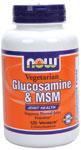 NOW Foods Vegetarian Glucosamine & MSM 120 Vcaps