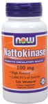 NOW Foods Nattokinase 100 mg 120 VCaps