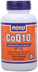 NOW Foods CoQ10 60 mg 180 Vcaps