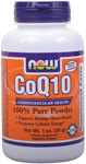 NOW Foods CoQ10 100% Pure Powder 1 Ounce