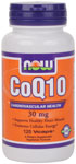 NOW Foods CoQ10 30 mg 120 Capsules