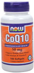 NOW Foods CoQ10 50 mg 100 Softgels