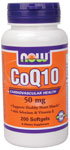 NOW Foods CoQ10 50mg  200 Softgels