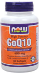 NOW Foods CoQ10 400 mg 60 Softgels