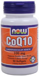 NOW Foods CoQ10 100 mg  50 Softgels