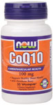 NOW Foods CoQ10 100mg with Hawthorn Berry 30 Vcaps