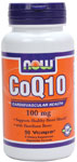 NOW Foods CoQ10 100 mg with Hawthorn Berry 90 Vcaps