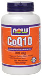 NOW Foods CoQ10 100 mg with Hawthorn Berry 180 Vcaps