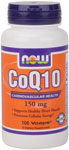 NOW Foods CoQ10  150 mg 100 Vcaps