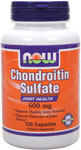 NOW Foods Chondroitin Sulfate 600 mg 120 Capsules