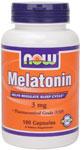 NOW Foods Melatonin 3 mg 180 Capsules