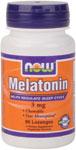 NOW Foods Melatonin 3 mg Sublingual  90 Lozenges