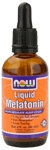 NOW Foods Liquid Melatonin 2 Ounces (60 ml)