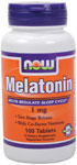 NOW Foods Melatonin 1 mg 100 Tablets