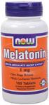 NOW Foods Melatonin 1 mg 100 Tablets