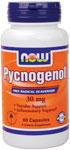 NOW Foods Pycnogenol 30 mg  60 Capsules