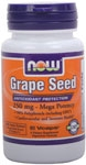 NOW Foods Grape Seed Extract  250 mg 90 Vcaps