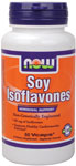 NOW Foods Soy Isoflavones 60 mg 60 Vcaps