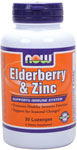 NOW Foods Elder-Zinc 30 Lozenges