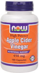 NOW Foods Apple Cider Vinegar 450 mg  180 Capsules
