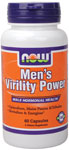 NOW Foods Mens Virility Power 60 Capsules