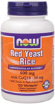 NOW Foods Red Yeast Rice with CoQ10 120 Vcaps