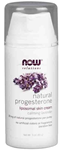 NOW Foods Natural Progesterone Liposomal Skin Cream with Lavender 3 Ounces