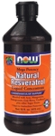 NOW Foods Natural Resveratrol Liquid Concentrate 16 fl oz (473 ml)