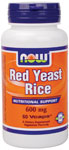 NOW Foods Red Yeast Rice 600 mg  60 Vcaps™