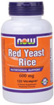 NOW Foods Red Yeast Rice 600 mg 120 Vcaps