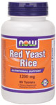 NOW Foods Red Yeast Rice 1,200 mg  60 Tablets