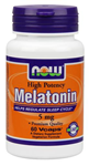 NOW Foods Melatonin 5 mg 60 Vcaps