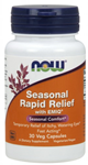 NOW Seasonal Rapid Relief 30 Veg Capsules