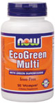 NOW Foods EcoGreen Multi (Iron-Free)  90 Vcaps