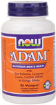 NOW Foods ADAM Superior Mens Multi  90 Vcaps