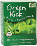 NOW Foods Green Kick™ Sencha and Macha Green Tea 24 Bags
