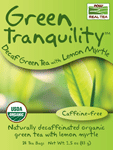 NOW Foods Green Tranquility™  Decaf Green Tea with Lemon Myrtle 24 Bags