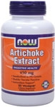 NOW Foods Artichoke Extract 450 mg 90 Vcaps