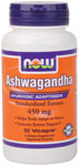 NOW Foods Ashwagandha 4.5% Extract 450 mg  90 Vcaps