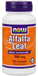 NOW Foods Alfalfa Leaf  500 mg 100 Capsules