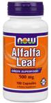 NOW Foods Alfalfa Leaf  500 mg 100 Capsules