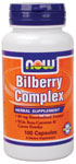 NOW Foods Bilberry Complex 50 Capsules