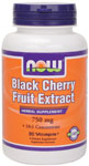 NOW Foods Black Cherry Fruit Extract 750 mg 90 Vcaps