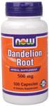 NOW Foods Dandelion Root 500 mg 100 Capsules