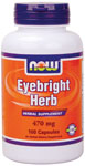 NOW Foods Eyebright Herb 470 mg 100 Capsules