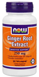 NOW Foods Ginger Root Extract 250 mg 90 Vcaps®