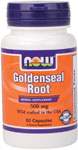 NOW Foods Goldenseal Root Caps 500 mg 50 Capsules