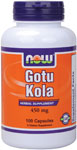 NOW Foods Gotu Kola 450 mg 100 Capsules