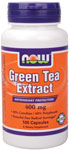 NOW Foods Green Tea Extract 400 mg 100 Capsules
